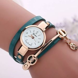Women watch imitation Leather belt